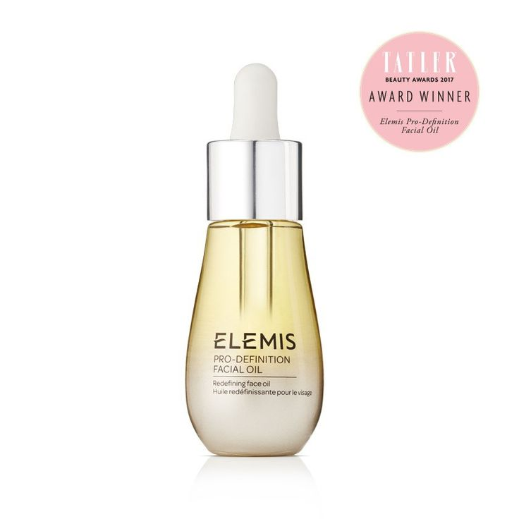 Pro Definition anti ageing oil for mature skin with Tatler Award