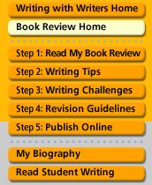 Writing with Writers: Writing a Book Review - Students can work through this tutorial or teachers can project to whole class using interactive whiteboard as a minilesson in prep for writing book reviews and publishing them at scholastic.com