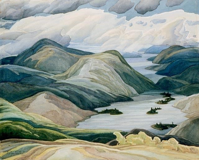 Grace lake by Franklin Carmichael