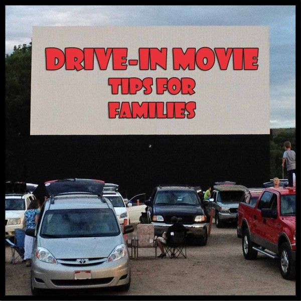 Our local drive-in movie theater is open for summer! Here are 10 drive-in tips for families, and links to find a drive-in theater near you. | TipsforFamilyTrips.com
