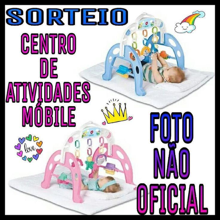 FOTO NÃO OFICIAL. FOTO OFICAL NO IG @grazimaedorafa .  Atenção! Mamães papais titias dindas e vovós quer ganhar esse centro de atividades mobile.?!  Para participar é super simples:  1SEGUIR e curtir a FOTO OFICIAL no Ig @grazimaedorafa   2 Seguir: . @juliaehelena8471 @crescendocomlavinia @lauraminidiva @bebe_ceciliamollo @julieadventure01 @bloguinhodaJulie @daniele_marson @maedaesther @manudadinda @hellenabia @mundodapaolla . 3 Marcar 3 amigas nos comentários! ( Não vale marcar fakes…