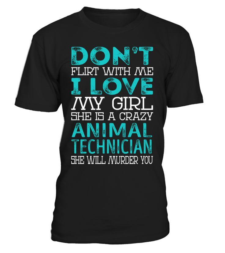 Animal Technician - Crazy Girl #AnimalTechnician
