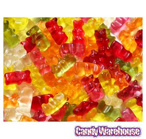 Haribo Gummi Gold Bears Candy: 5LB Bag
