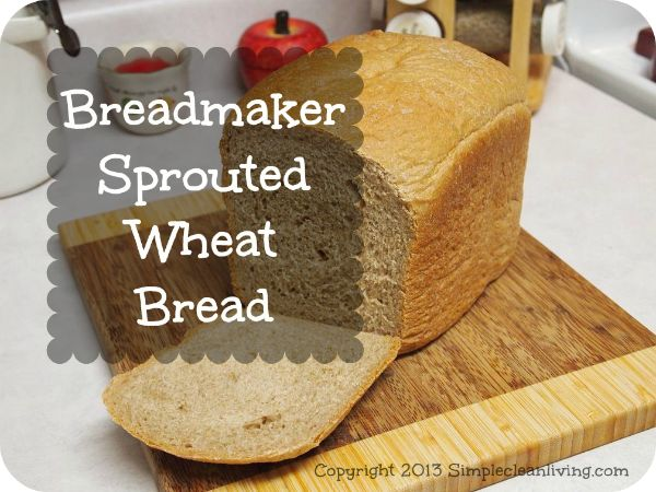 Okay, as promised, here is the recipe for homemade bread that I made in my bread maker. I have tried is with a couple of different options, but this is my favorite! I use sprouted wheat flour that ...