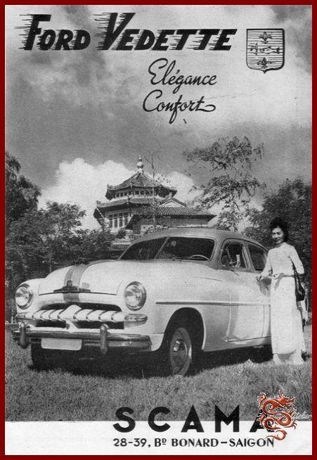 Old Ford Vedette ad in Saigon & 13 best Ford (France) images on Pinterest | Ford Vintage cars and ... markmcfarlin.com
