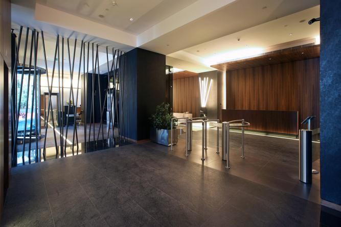 Trump Towers Office Tower Entrance Lobby