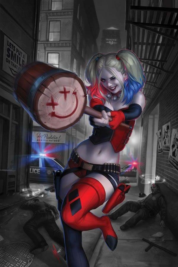 Harley Quinn n° 01 (2016) - Warren Louw.