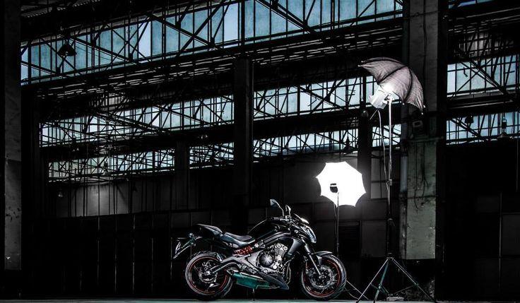 Pre Launch Photoshoot for Kawasaki India.  Motorcycle: ER-6n #Motorcycle #Sports #Bikes #Kawasaki #India #Photography