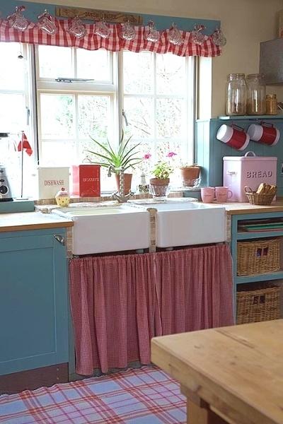 7 Best Curtain Under Kitchen Sink Images On Pinterest