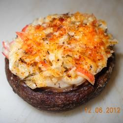 mushrooms stuffed with crab   – Recipes
