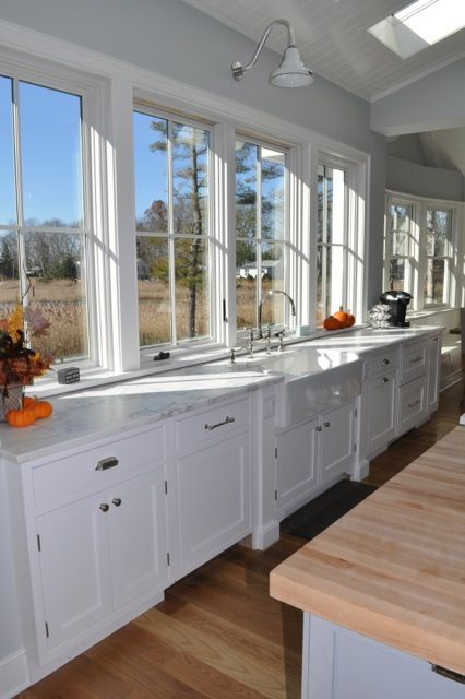 Kitchen Wall Light Over Sink : Barn Lights, Goosenecks, Sconces for a Coastal Connecticut Home Barn Light Electric Blog # ...