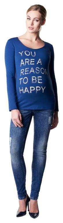 Camiseta premamá Ness [50527] - 39,95€ : Tienda premamá online. Moda prenatal para embarazadas y ropa interior para embarazo y lactancia., Demamis.com