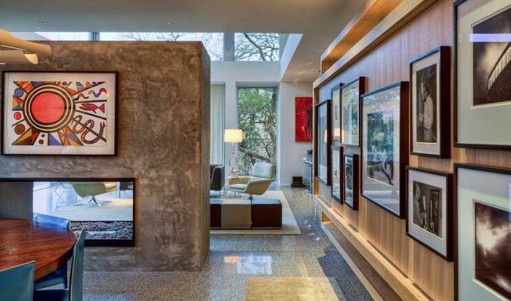 Casa moderna con vistas a austin by dick clark - Maison contemporaine dick clark architecture ...