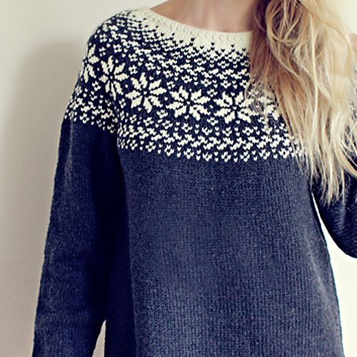 Ravelry: Norwegian Woods Sweater pattern by Katrine Hammer