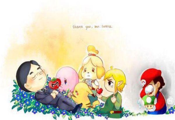 10 heartwarming fan art tributes to Nintendo chief Satoru Iwata ...
