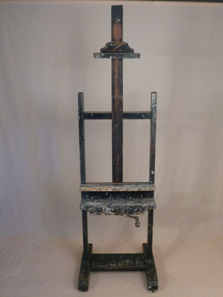SOLD --- ANTIQUE - ARTIST EASEL --- SOLD >Antique Easels > Antique & Vintage > Main Section > Antique Tables and Chairs