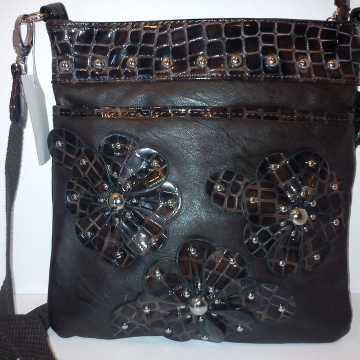 Brown shoulder straped w/ Gator skin print from Country Casual Clothing Company for $25.99 on Square Market