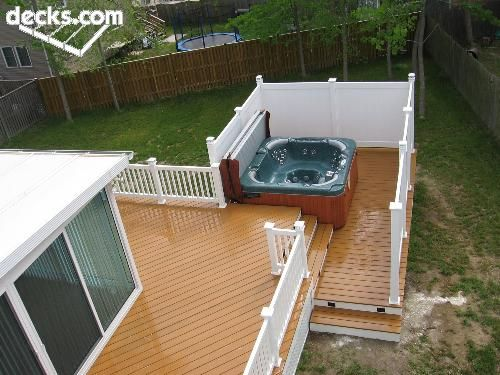 32 Best Hot Tub Privacy Spa Enclosures Images On