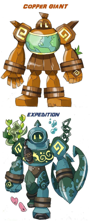 GOLURK+variations+(final)+by+Kurigaru.deviantart.com+on+@DeviantArt