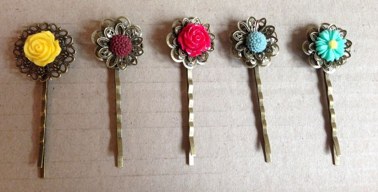 accessories by D - Hair pins  $3.00 each or two for $5.00