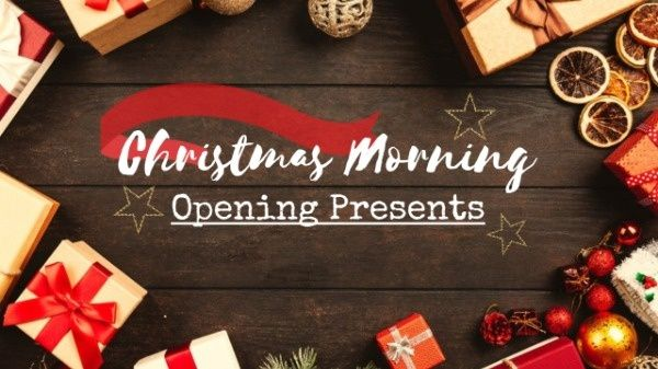 At Christmas Morning Open Your Best Gift And Enjoy It Online Christmas Opening Presents Youtube Thumbnail Template Foto Holiday Outfits Roblox Roblox Codes