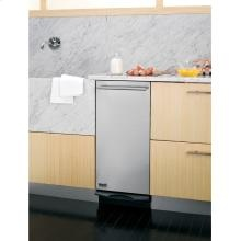 "GE Monogram® 15"" Built-In Compactor. Features include: Stainless Door with Tubular Handle, 1.4 Cu. Ft. Capacity, 1/3 HP Motor, Rear Wheels,  Built-in only, Automatic Anti-Jam. To learn more about this product or view our selection of kitchen major appliances, visit us online at http://www.swappliances.com"