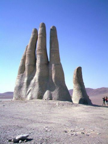Hand of the Desert San Pedro de Atacama, Chile