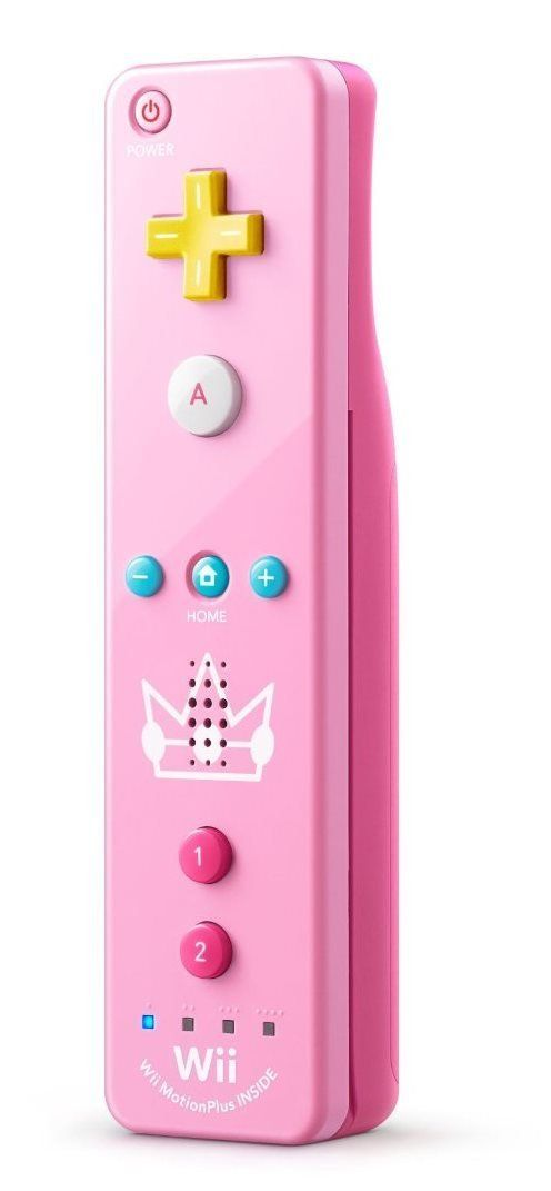 Wii U Princess Peach Controller - I love this controller! Hubby gave it to me for Christmas.