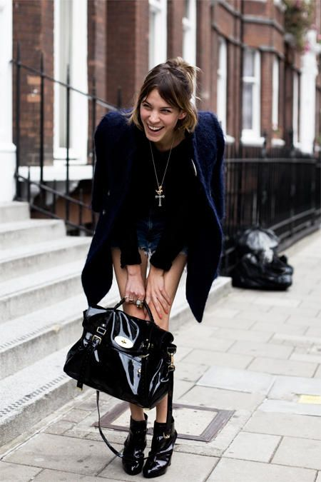 Alexa Chung, mode icoon uit Londen, gefotografeerd door Garance Dore.