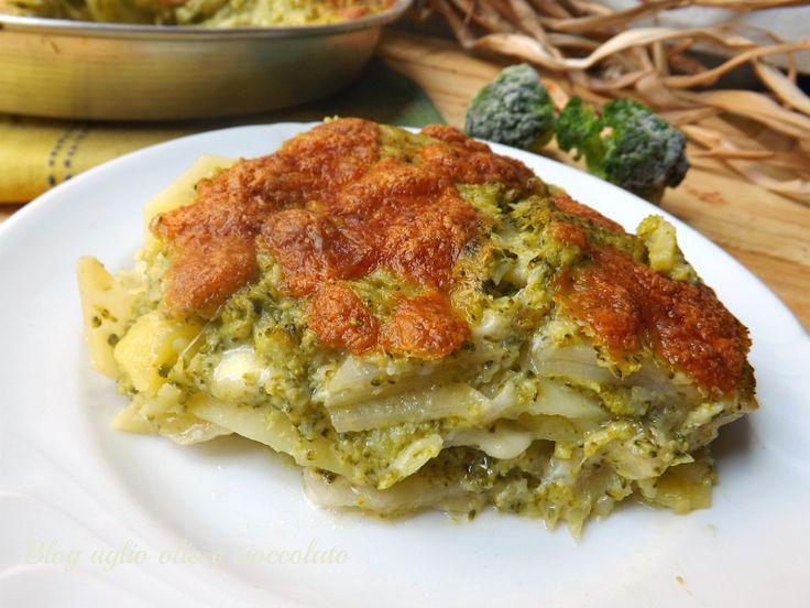 Il Tortino di Patate e Broccoli,è uno dei miei piatti preferiti!!E' un piatto molto gustoso e cremoso.
