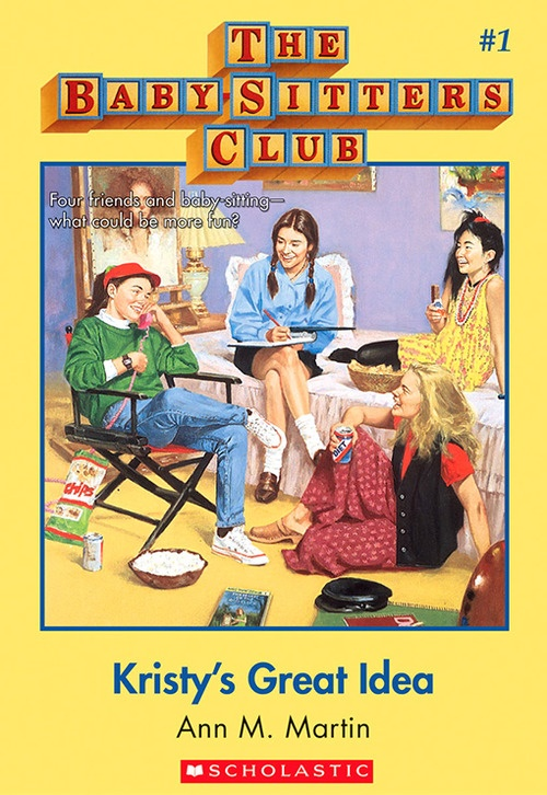 My favorite series growing up- The Baby Sitters Club books by Ann. M. Martin