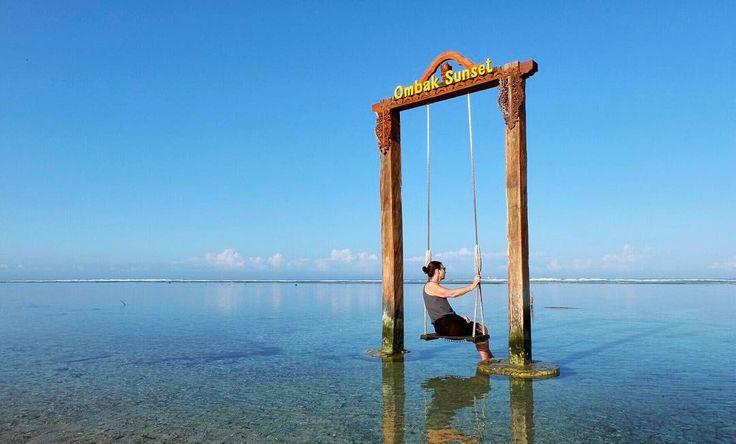 "@live_life_love_travel on Instagram: ""Peaceful Gili Trawangan. #bali #indonesia #gilitrawangan #beachlife #islandlife #ig_worldclub…"""