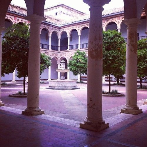 Amazing place on the campus of the university of Cordoba #spain #students2013