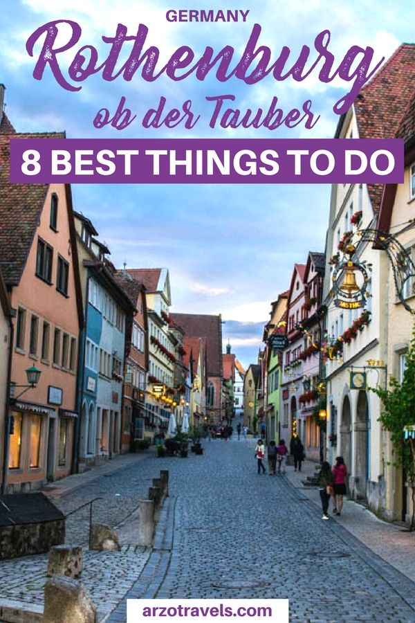 Rothenburg ob der Tauber is one of the most beautiful towns in Germany. Find out where to go and what to do in Rothenburg ob der Tauber Germany. Best things to do in Rothenburg