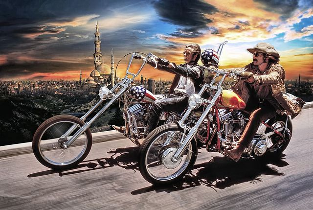 Easy Rider No More ....
