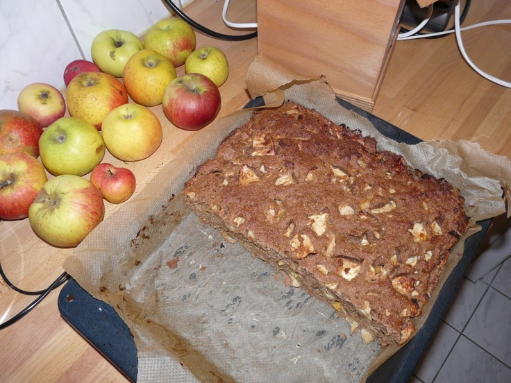 My housemate works a 14 hour day and has a very busy life, yet he cooks a healthy dinner from scratch every night. Last night he even turned these apples into this lovely organic, vegan, apple bread in no time! No more excuses from me about not having time to cook!!  www.zlimm123.com