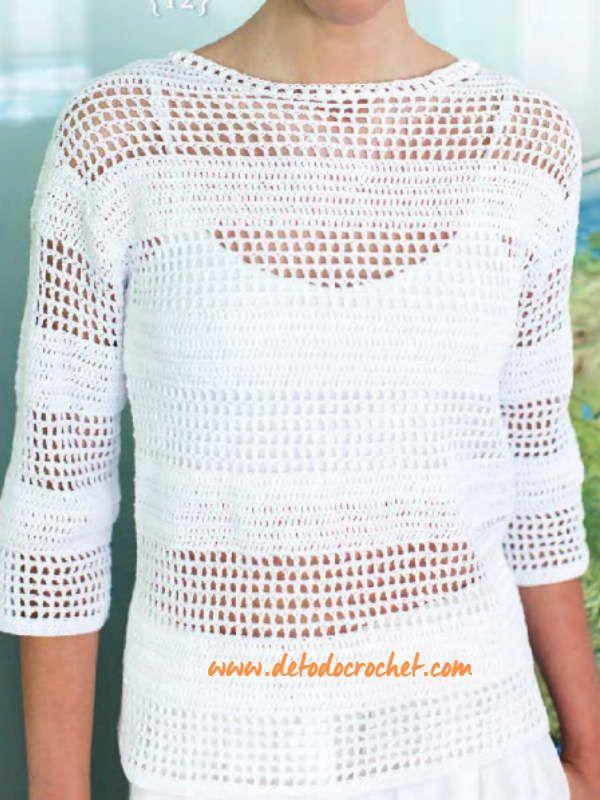 Todo crochet | chalecos crochet | Crochet y Clothes