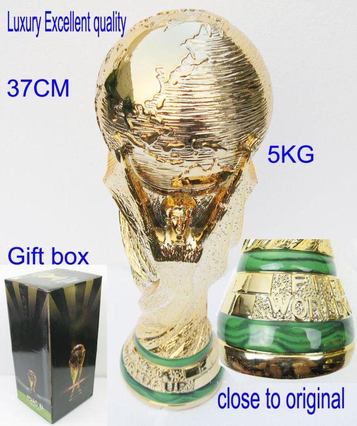 World Cup Trophy 1:1 replica - free shipping worldwide #arsenal #soccer #premierleague #mls #football