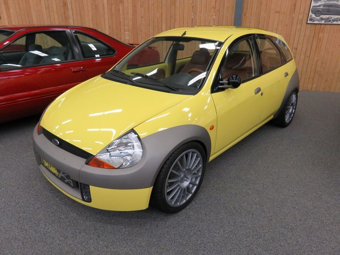 1998 Ford Ka Touring Concept Small Cars Ford Touring