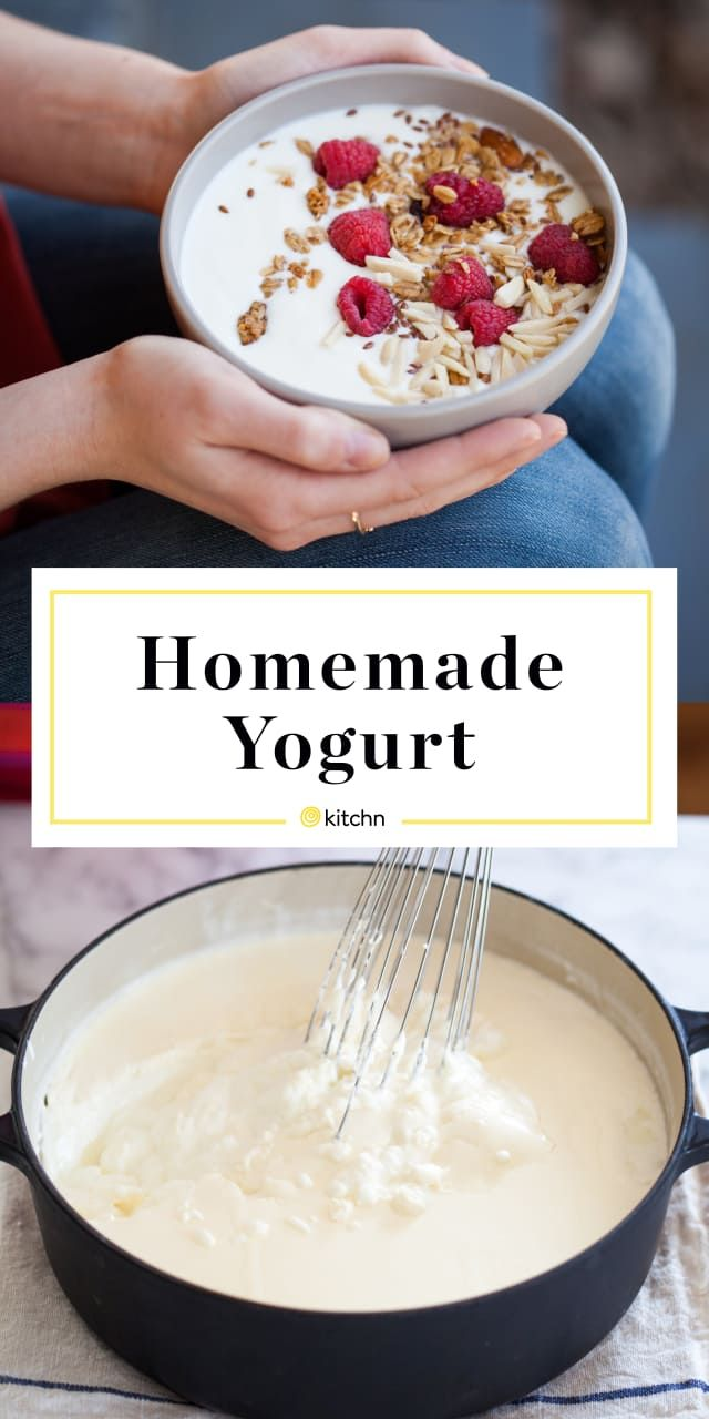You Only Need 2 Ingredients To Make Thick Creamy Homemade Yogurt Recipe Homemade Yogurt Recipes Homemade Yogurt Food