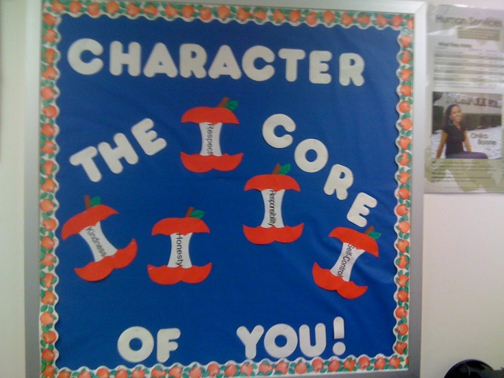 Idea for my first bulletin board to go with our school theme