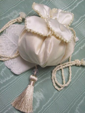 1914 Reproduction Tulip Petal Reticule, pattern available
