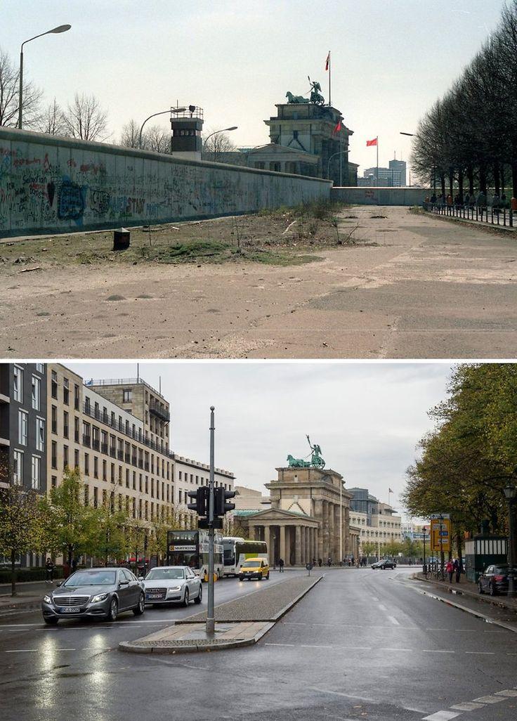 Fotogalerie: Berliner Ansichten vor und nach der Wende | Berliner-Kurier.de