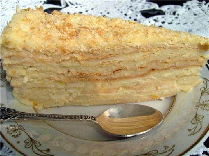 "Торт Наполеон ""Как у бабушки"". Рецепт"