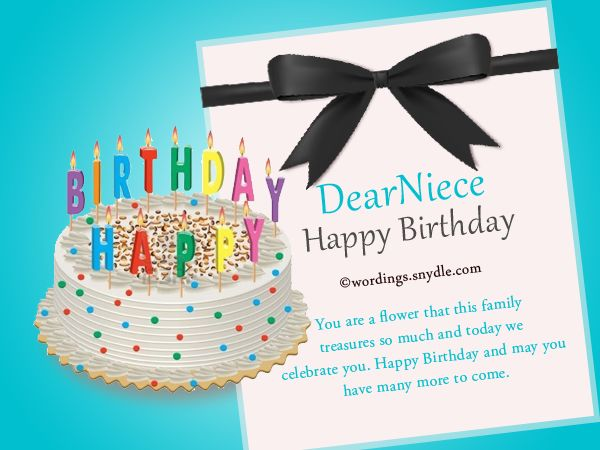 The 25 best Niece birthday wishes ideas – Greetings for the Birthday