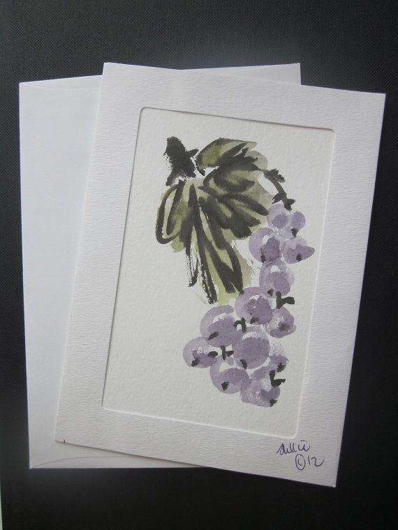 Chinese painting card