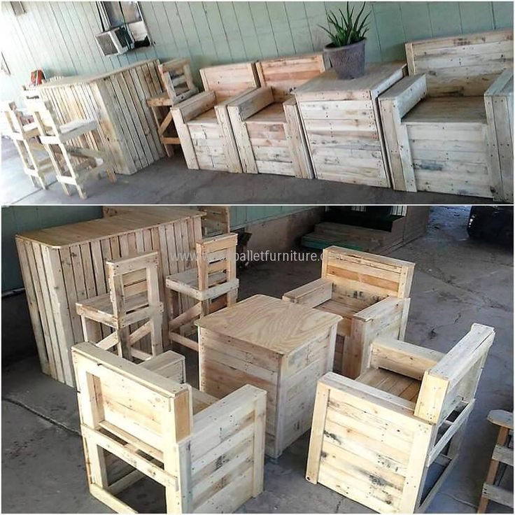 Recycle Pallet: 25+ Best Ideas About Wooden Pallet Furniture On Pinterest