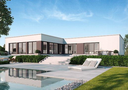 9 best panorama barrierefrei wohnen auf einer ebene images on pinterest bungalow bungalow. Black Bedroom Furniture Sets. Home Design Ideas