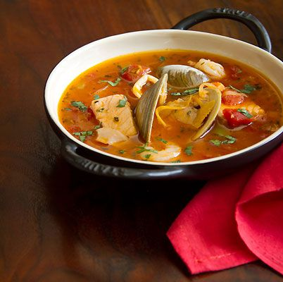 Cioppino is a simple fish soup that is easy to make and even easier to eat.