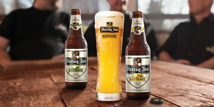 It's a Bastaard! A Radler with a bite: a child of Hertog Jan's famous pilsener beer and a soda brewed with beer yeast, fruit and herbs...(read more)